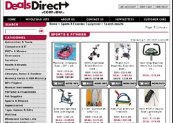 Screenshot of Deals Direct, Power Tools