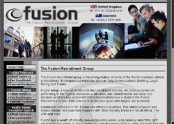 Screenshot of Fusion Group, Mining Employment