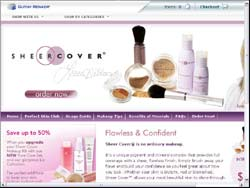 Screenshot of the Guthy Renker Products Australia website