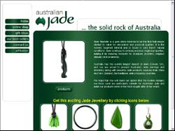 Screenshot of Australian Jade - Jewellery Store