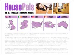 Screenshot of House Pals, Rooms for Rent